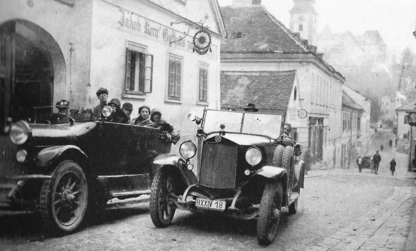 Gasthaus zur goldenen Sonne, 1925.